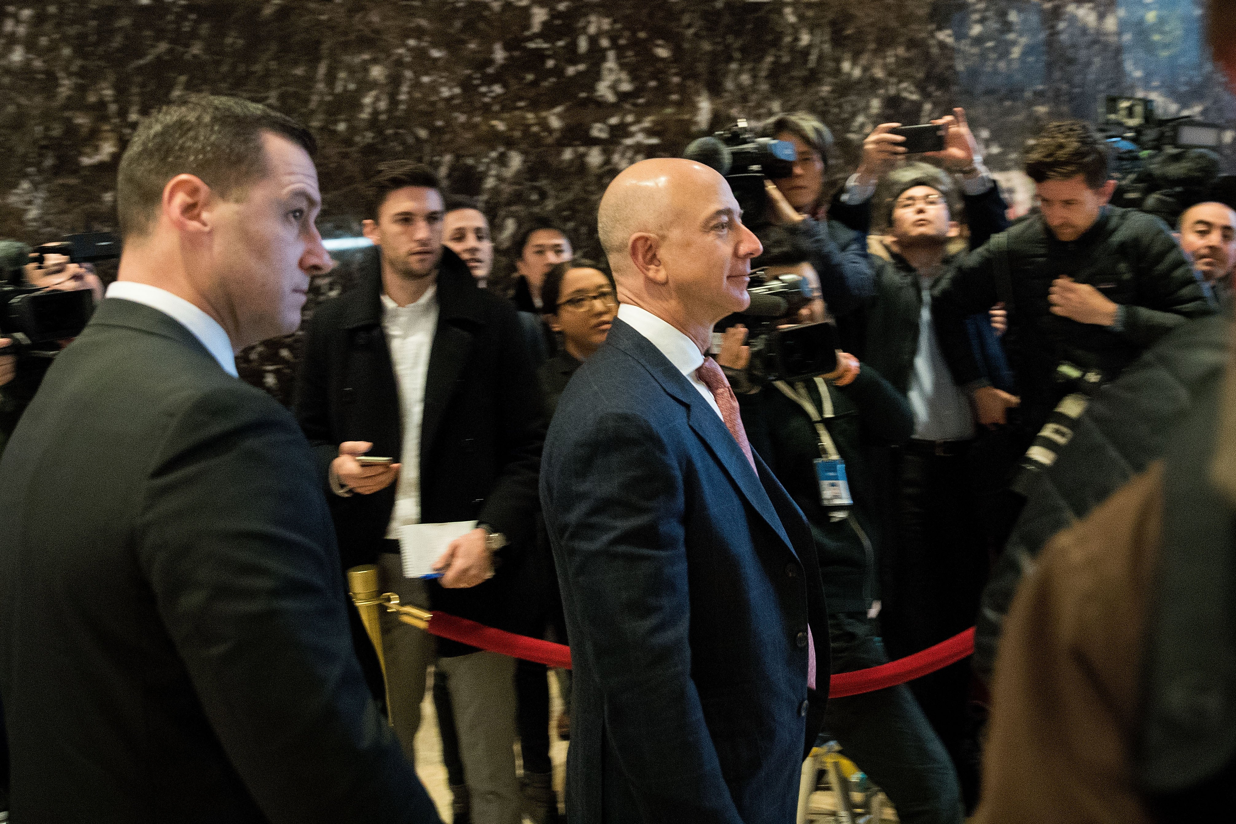 Tech Gods Arrive At Trump's Tech Summit