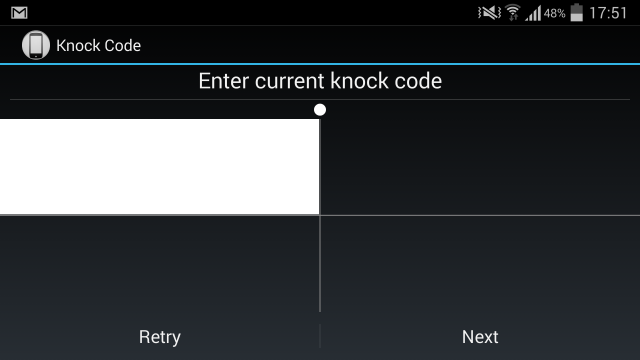 Knock Code Protects your Android from Unauthorised Access