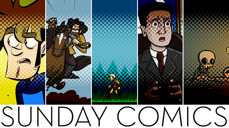 Sunday Comics: Phew, That Was A Close One!