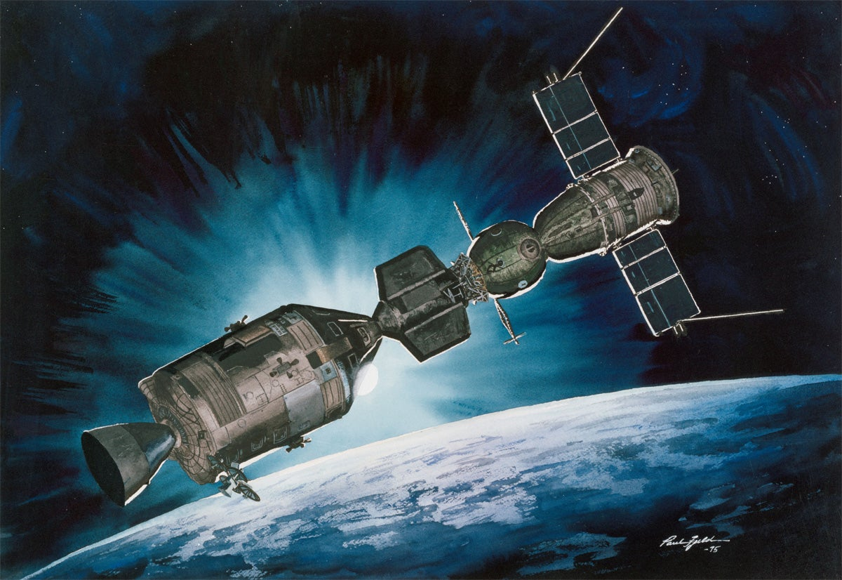 13 Amazing Paintings of Space Based On Actual Missions