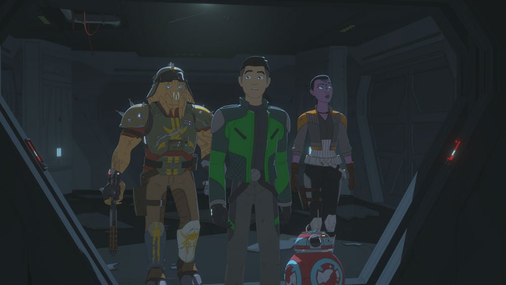 Oh, So That's How Star Wars Resistance Links To The Last Jedi