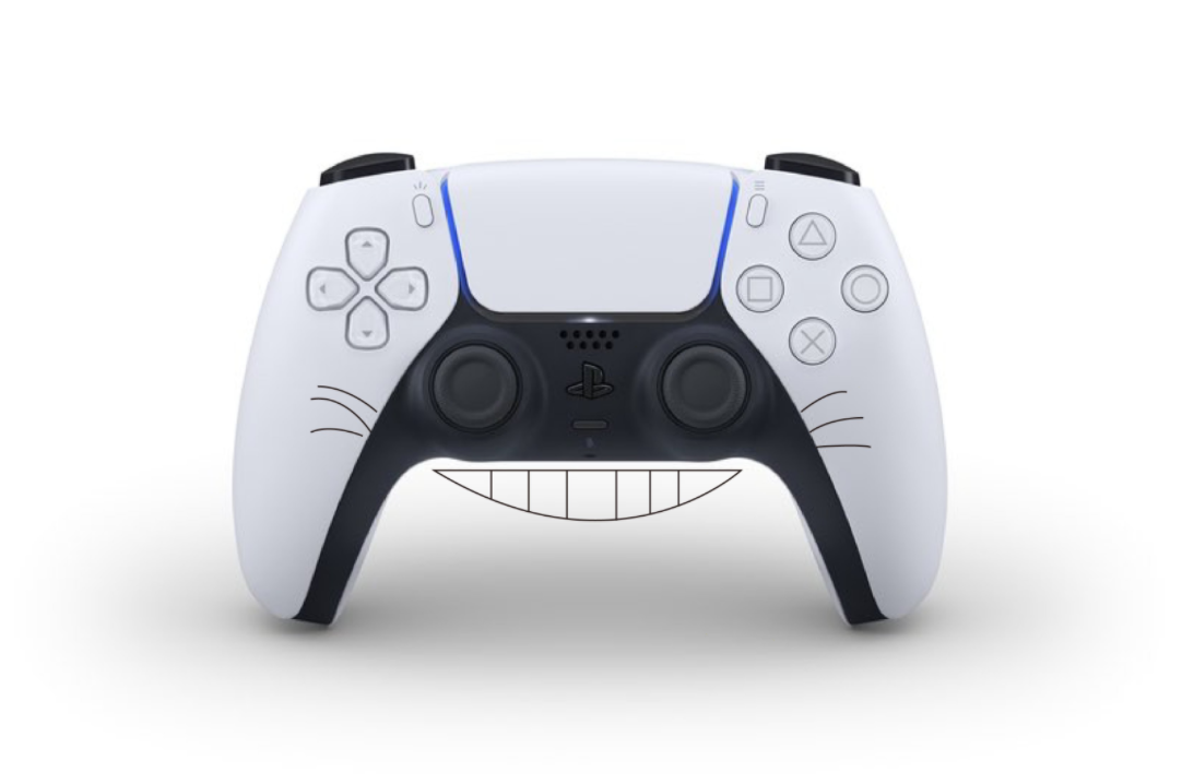 Fans Think The PlayStation 5 Controller Looks Totoro, Rei From Evangelion And More