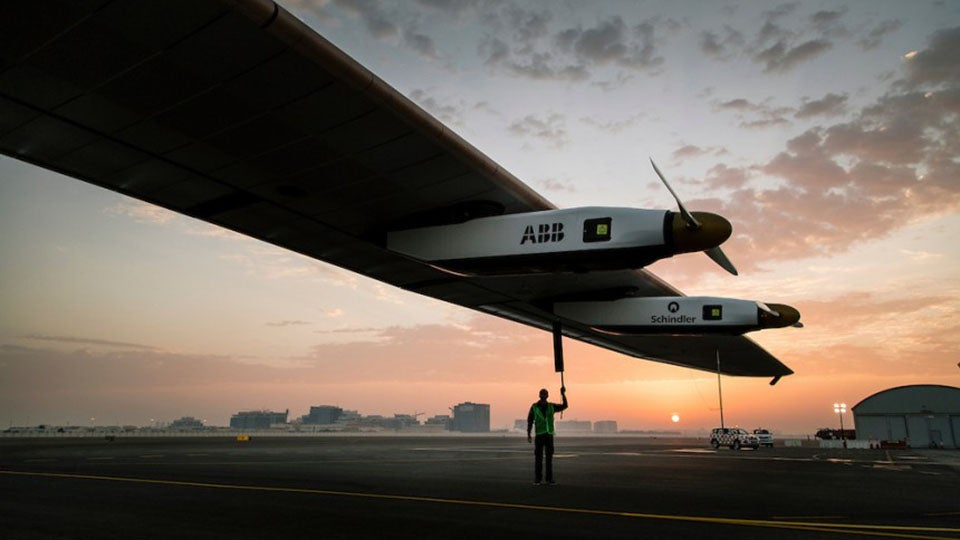 This Is How a Plane Will Navigate Earth Using Solar Power Alone