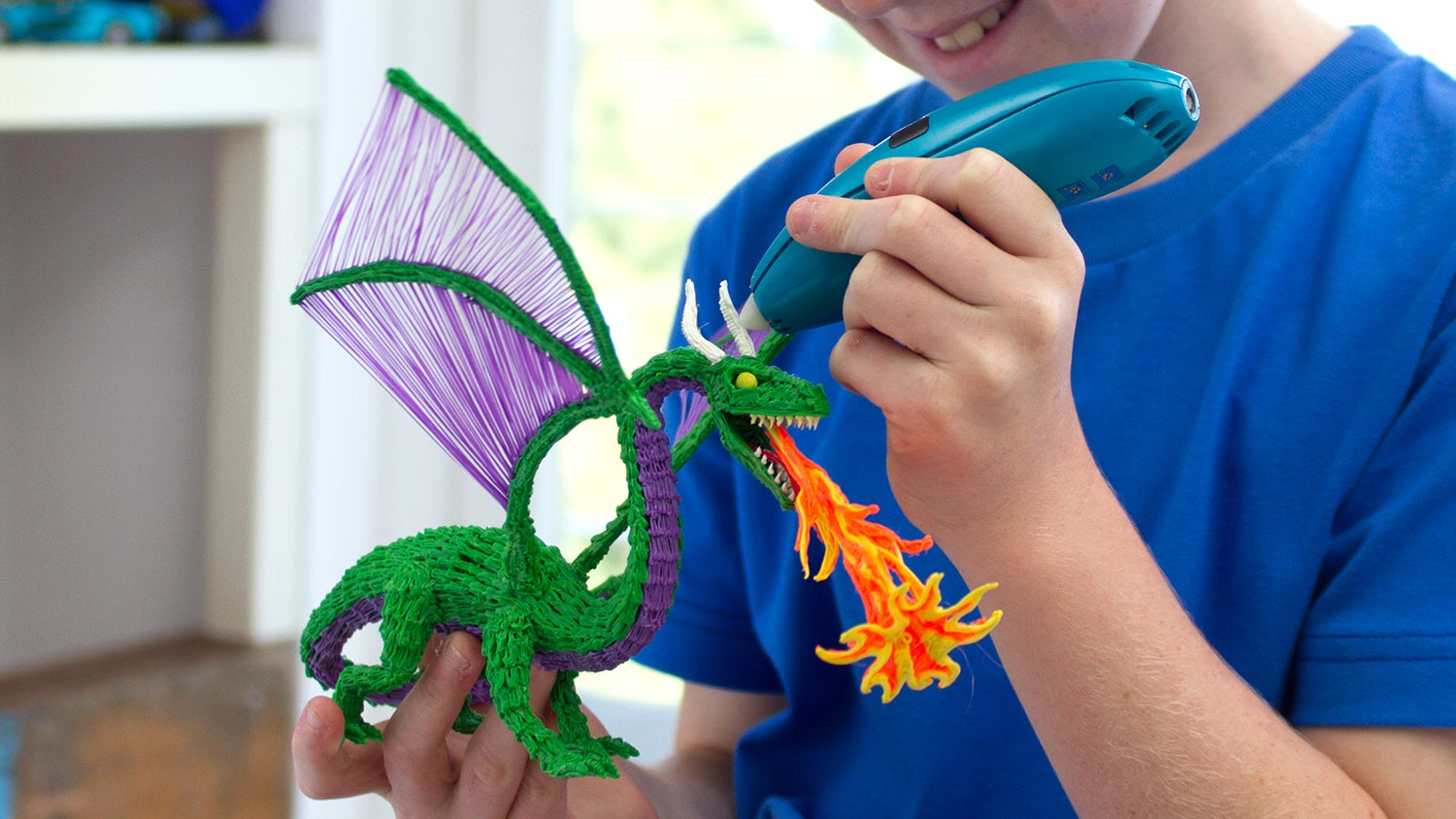 A New Kid-Safe Version of the 3Doodler Melts Plastic Without Burning Fingers