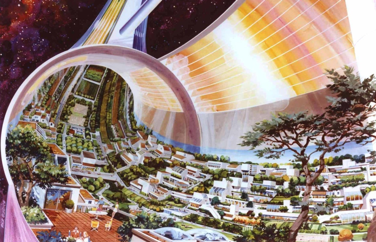 Upcoming Video Series Explores The Retro-Futuristic Space Colonies Of NASA Artists