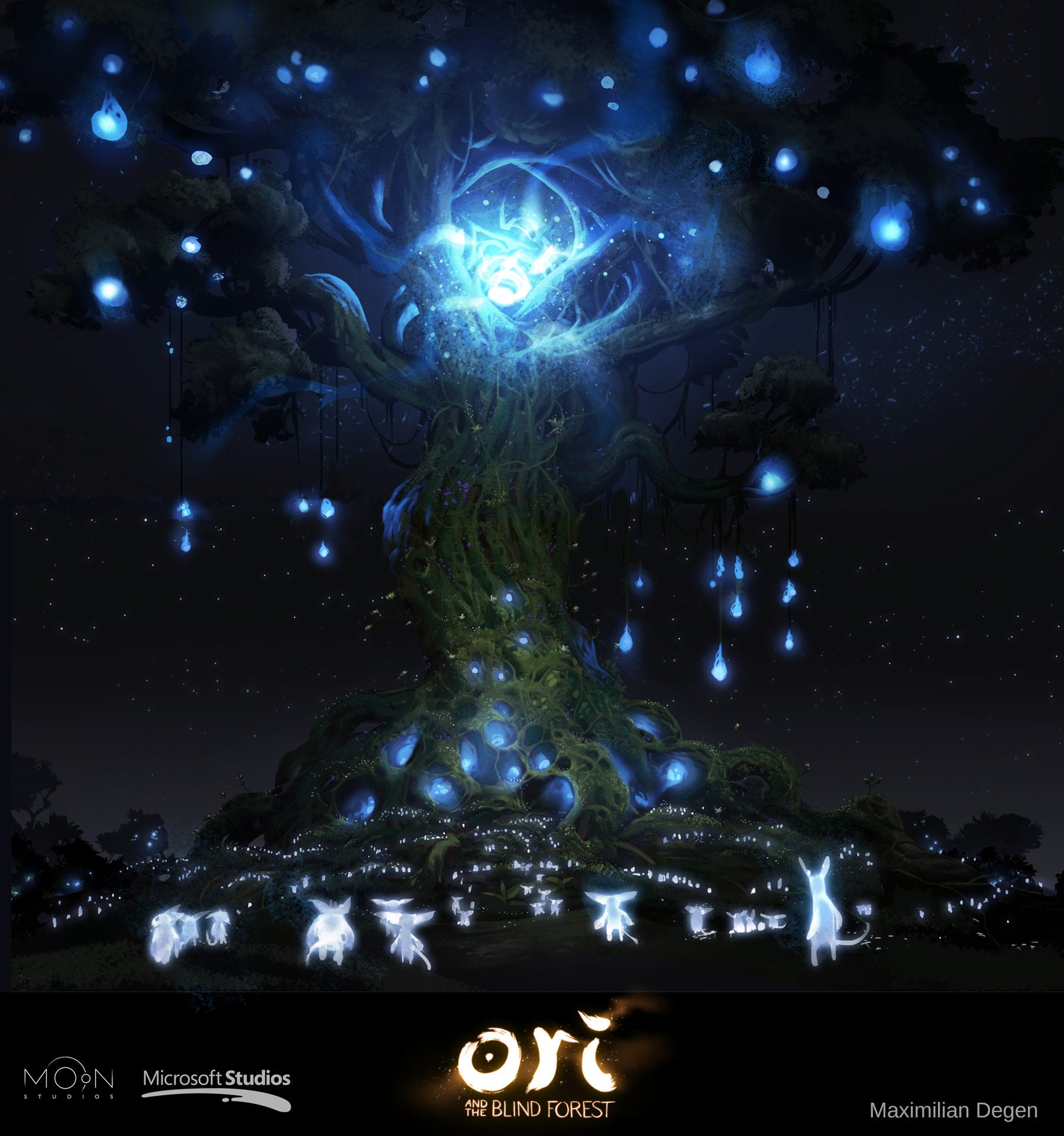 Damn, Ori And The Blind Forest Is So Beautiful