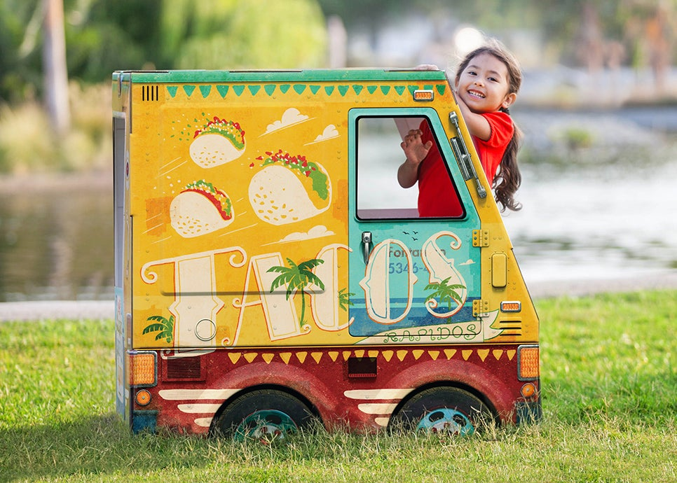 Playtime Can Also Teach a Profession With This Tiny Taco Truck