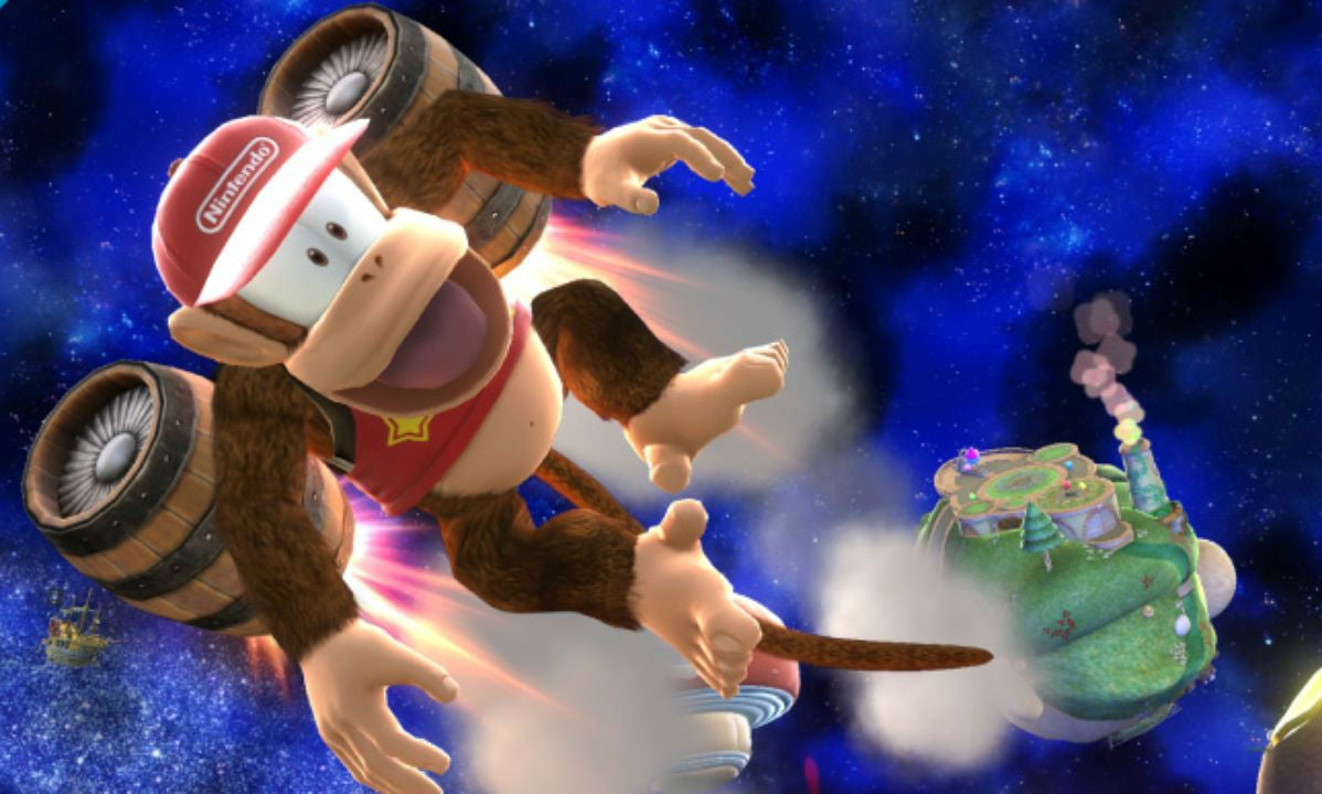 Smash Bros. Players Rally In Defence Of Diddy Kong