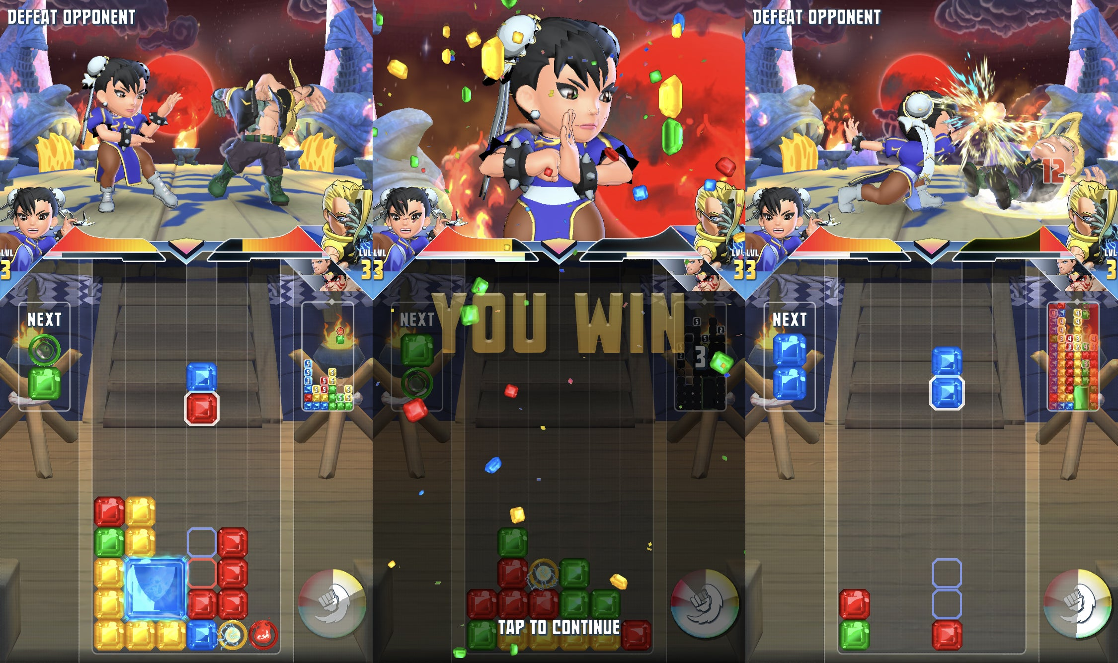 The New Puzzle Fighter Plays Better Than It Looks