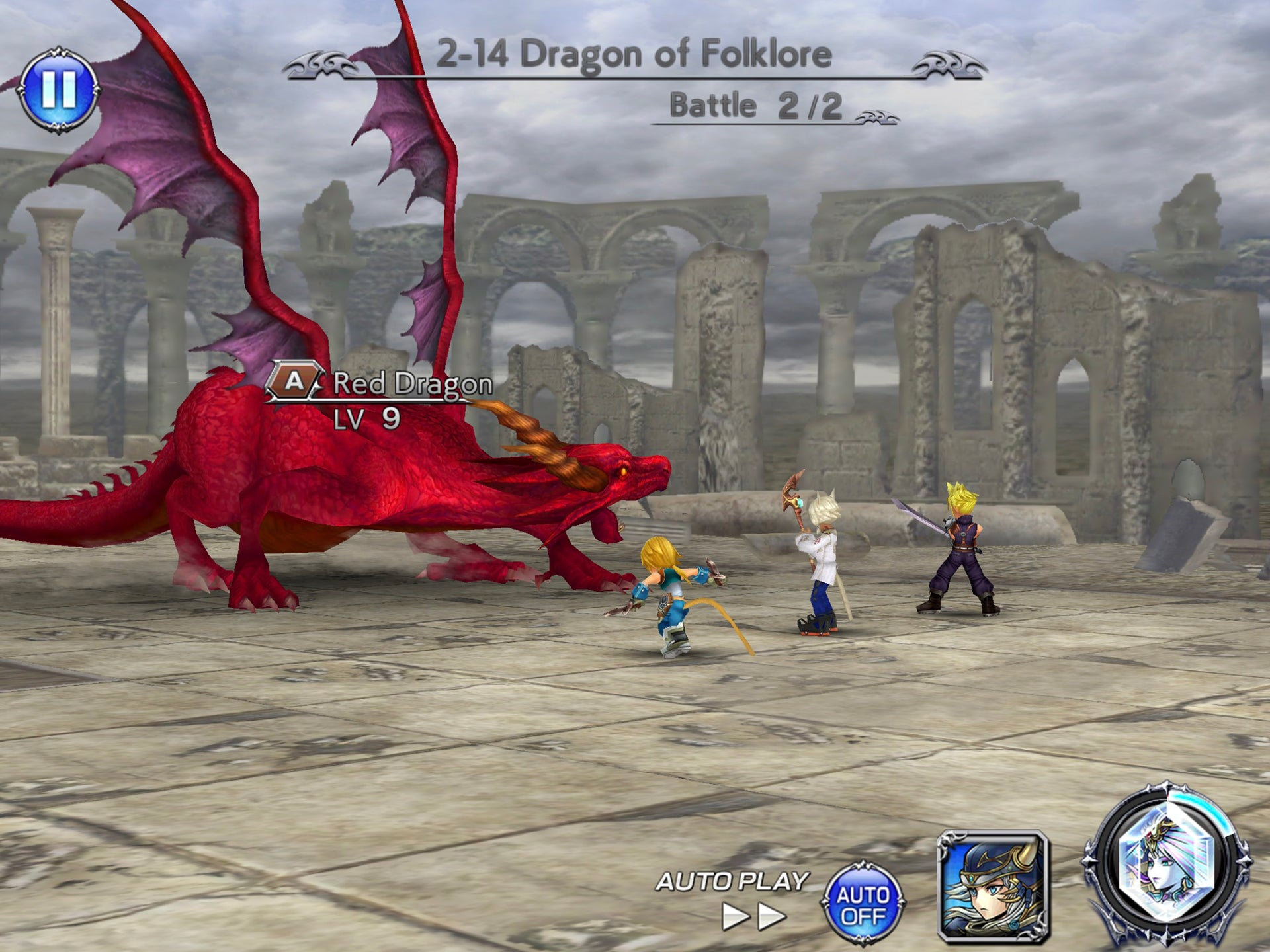 Dissidia Final Fantasy NT's Mobile Spin-Off Is Pretty Chill