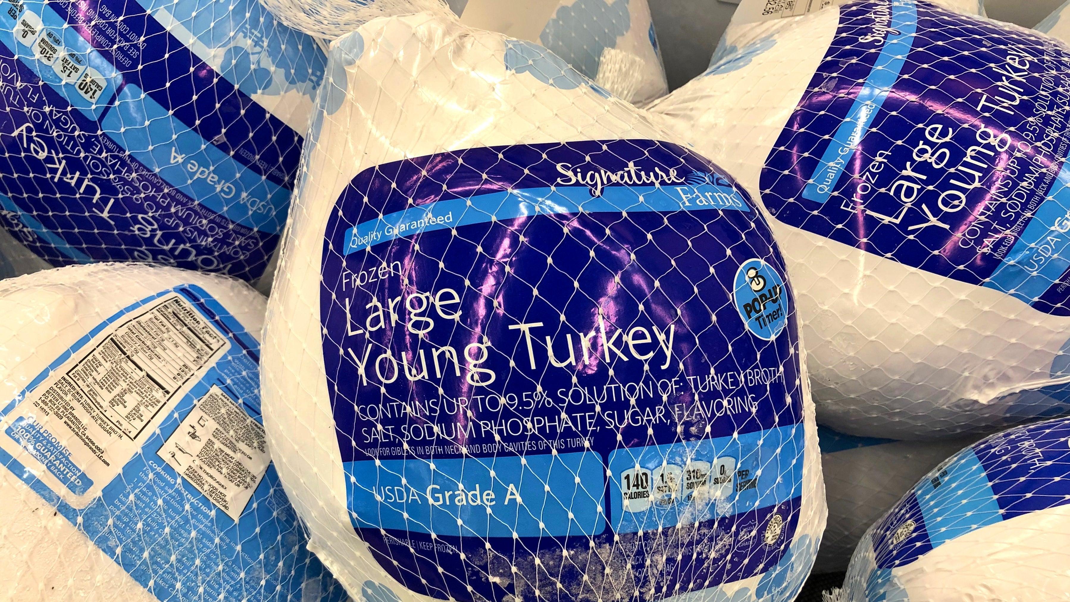 Last Year's Frozen Turkey Is Still Good