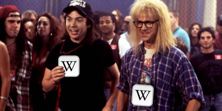 How a Simple Wikipedia Edit Got a Guy Backstage Gig Passes