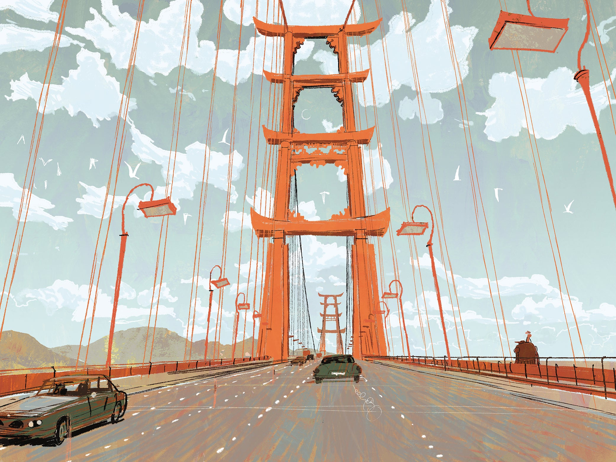A Tour of 'San Fransokyo,' the Hybrid City Disney Built for Big Hero 6
