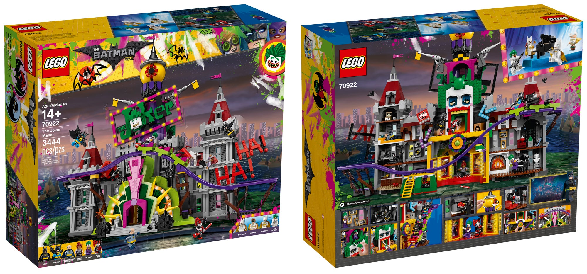Lego S New Joker Manor Set Includes A Working Roller