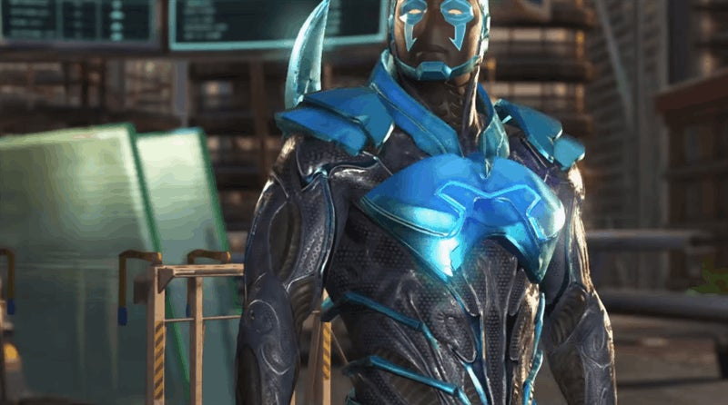 There's Certainly A Blue Beetle In Injustice 2