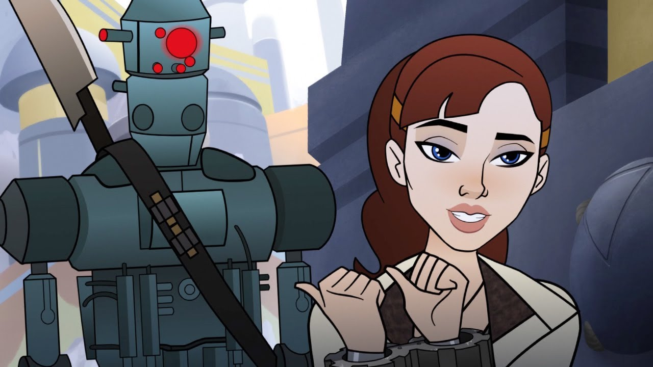 Star Wars: Forces Of Destiny Short Features Qi'ra And The Greatest Bounty Hunter Of All Time