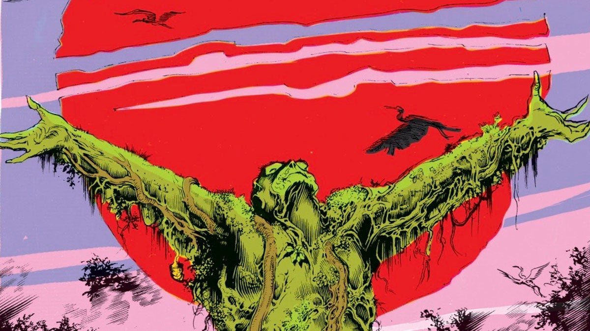 Swamp Thing Is A Sex Machine And We Deserve To See It