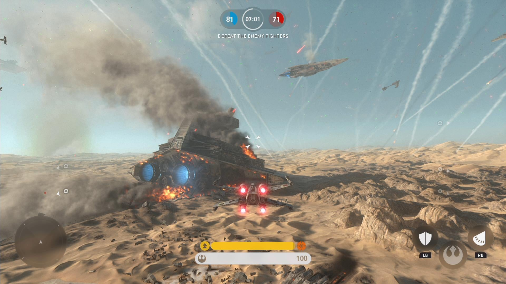 A Video Game Tour Of The New Star Wars Planet Jakku