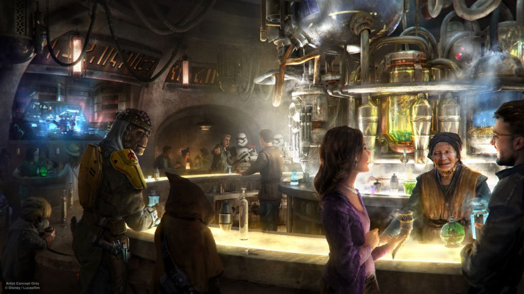 Good News, You'll Be Able To Get Drunk At Disney's New Star Wars Land