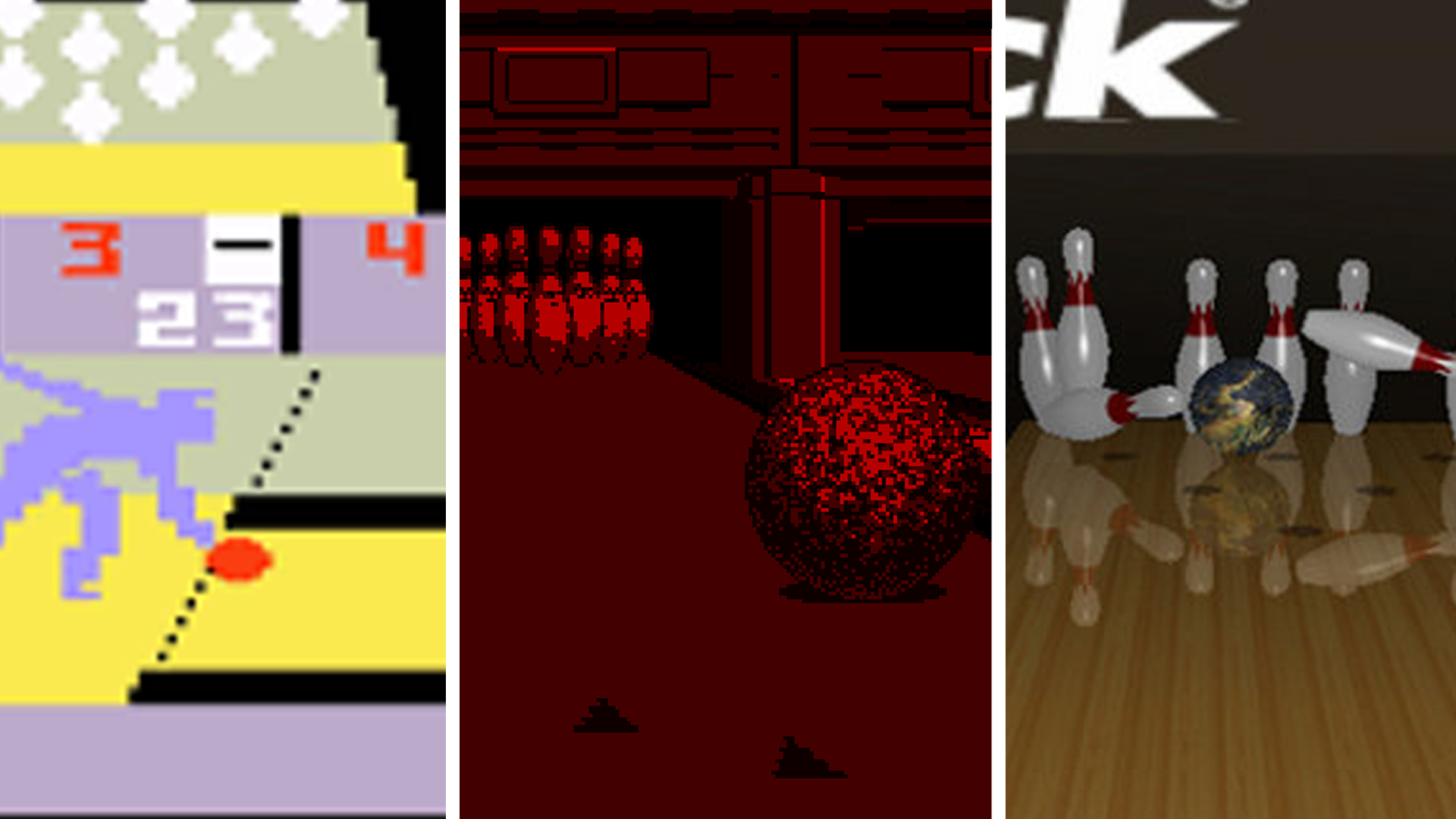 A History Of Bowling In Video Games