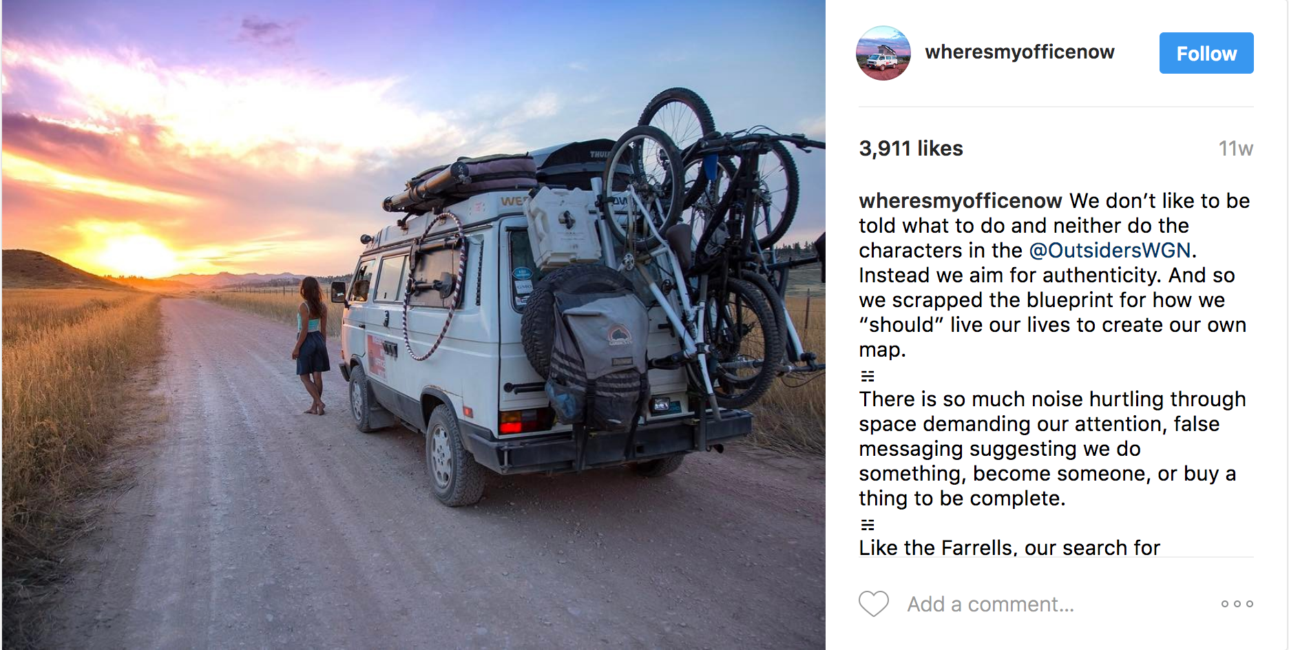 Even Hippies Living In Vans Are Shilling For #Brands On Instagram Now