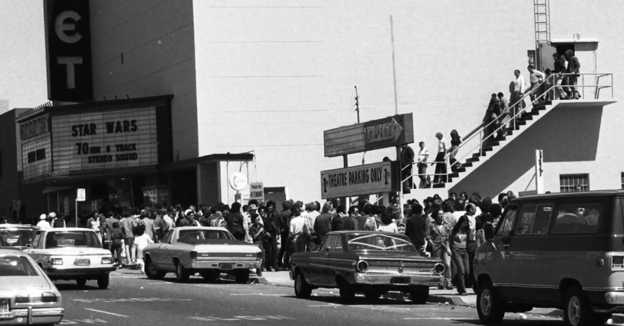 A Brief Visual History of People Waiting in Line for Star Wars