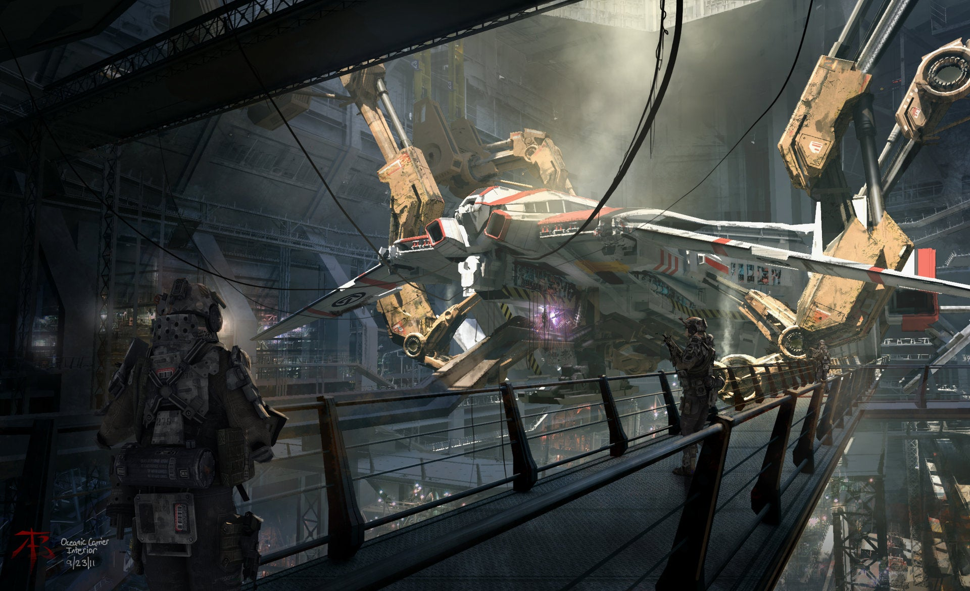 Fine Art: Titanfall's Mechs Still Look Great