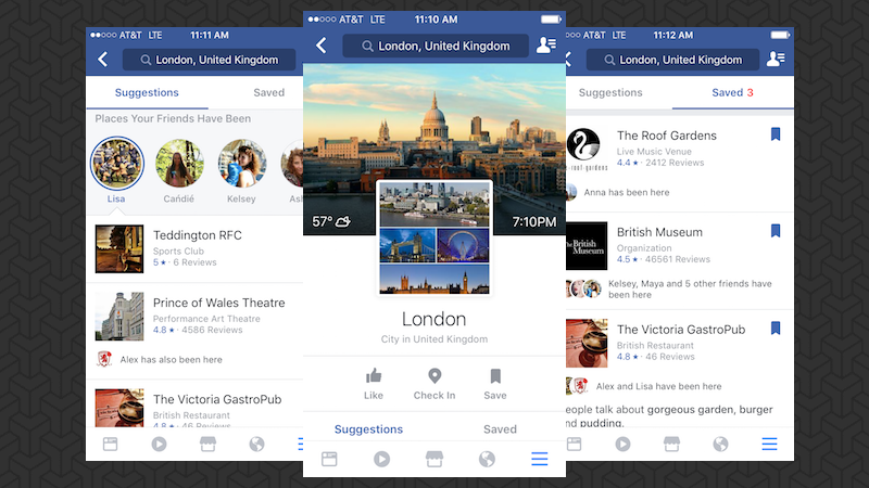 Facebook Rolls Out City Guides And They're Actually Useful