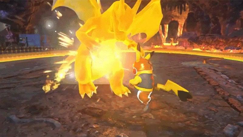 Move Over Steve Austin, Pikachu Can Do the Stunner, Too