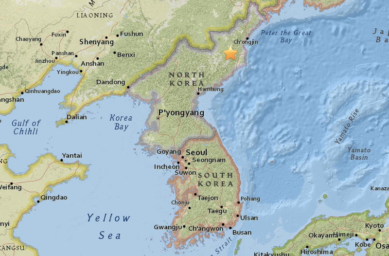 North Korea May Have Just Tested Its Biggest Nuke Yet