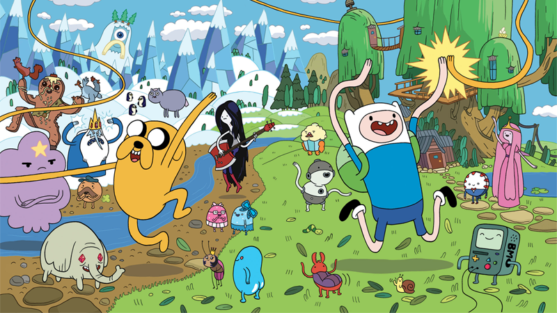 Adventure Time Comes To An End In 2018