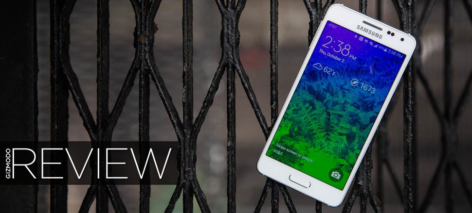 Samsung Galaxy Alpha Review: Beautiful, Comfortable, Flawed