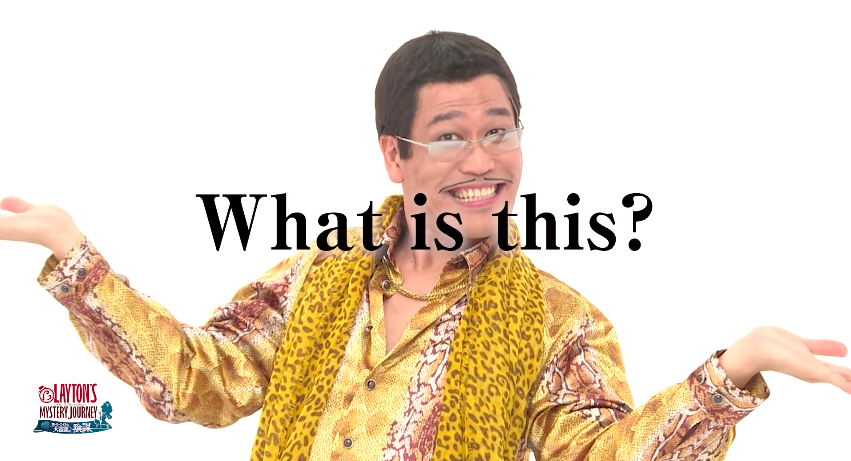 'PPAP' Singer Now Doing Layton's Mystery Journey Puzzles