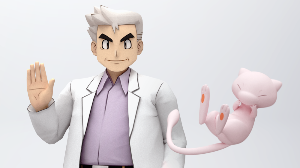 Why The Heck Is Mew Hanging Out With Professor Oak