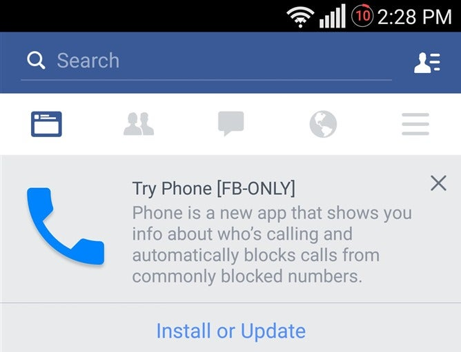 Facebook Is Making a Phone App Because We All Need More Facebook Apps