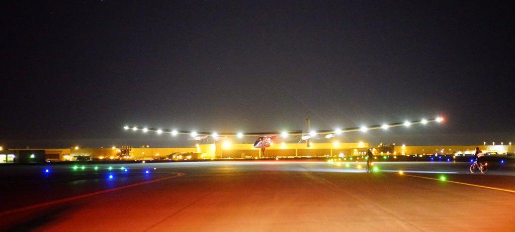 Solar Impulse Has Made It to Tulsa