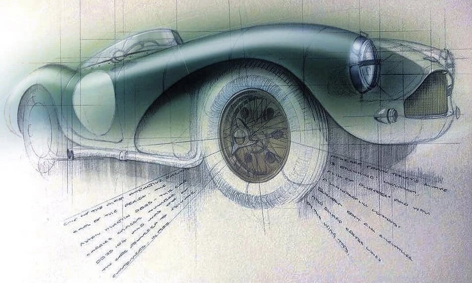 Meet The 'Scribbling Vicar,' The Priest Who Serves As Aston Martin's In-House Artist