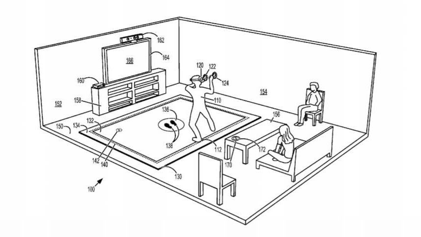 Microsoft Filed Patent For A Virtual Reality…Mat?
