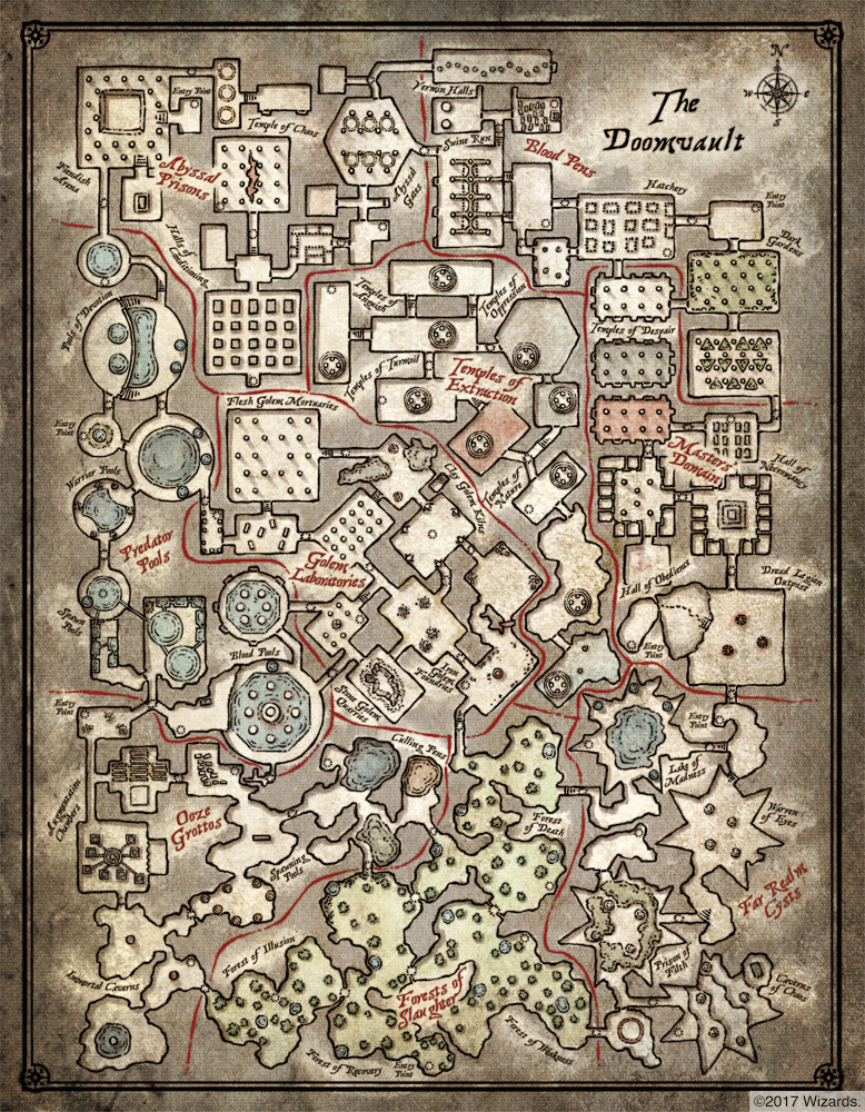 Maps and Images for the Doomvault Jydrchndoarybryqxgnx
