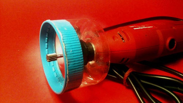 Make a Dremel Router Attachment with a Recycled Plastic Jar