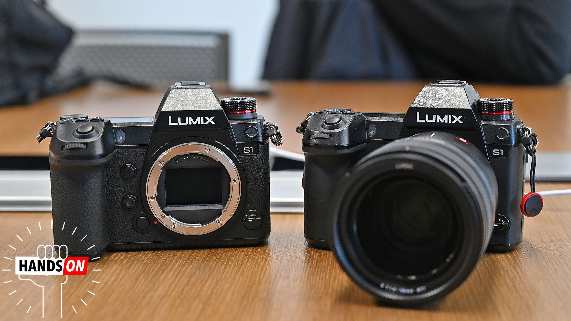 Panasonic S First Full Frame Mirrorless Cameras Are Big