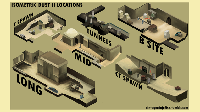 Counter-Strike Instructional Maps Are Works of Art