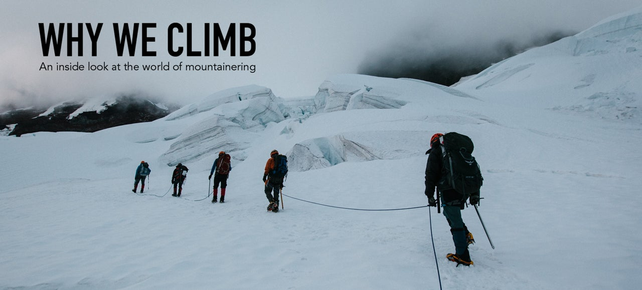 Climbing The Snowiest Mountain In The World