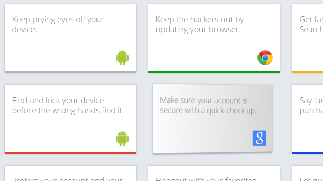 Google Safety Tips Offers a Primer in Online Security