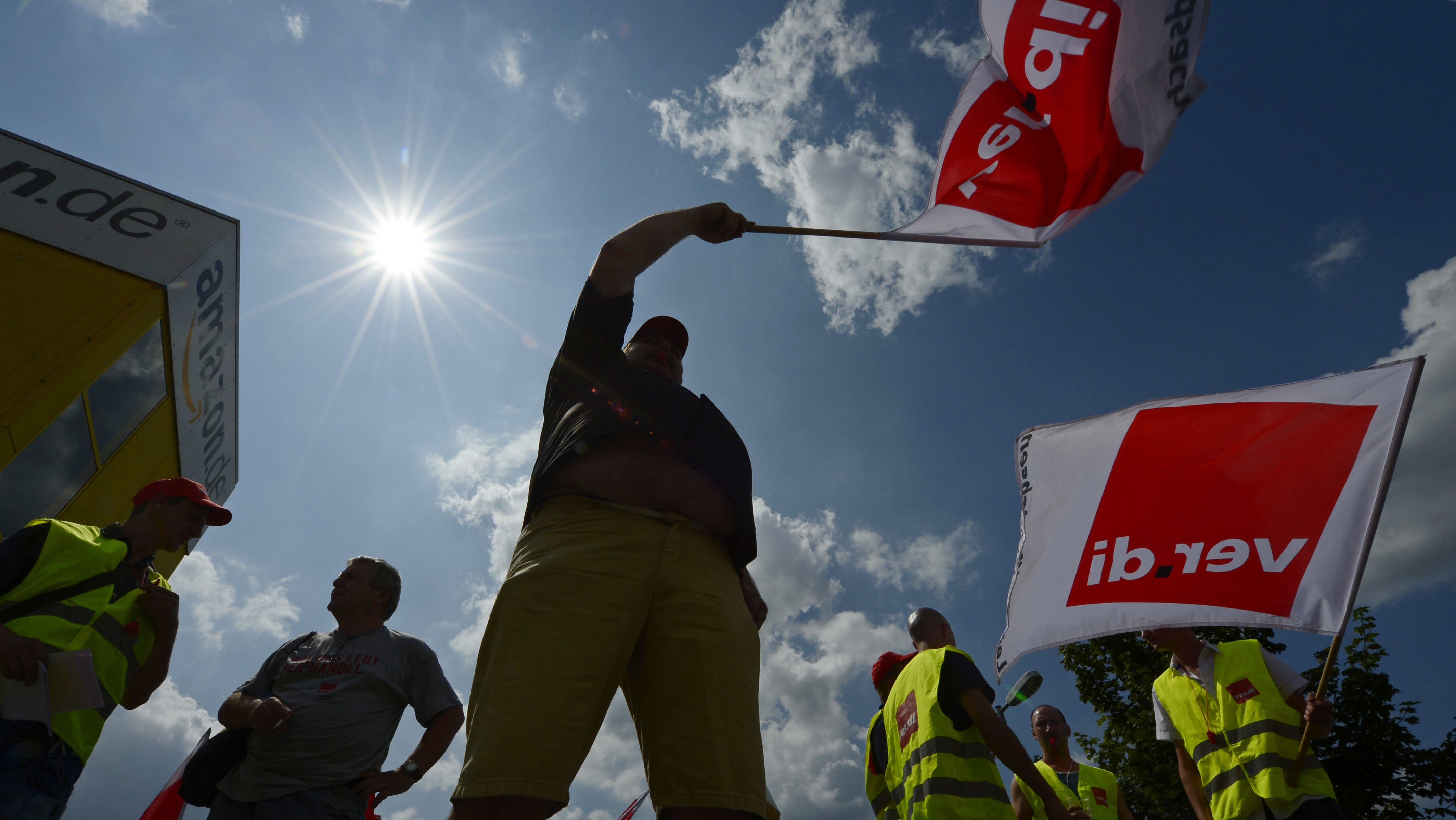 Amazon Workers In Europe Strike During Prime Day Crunch