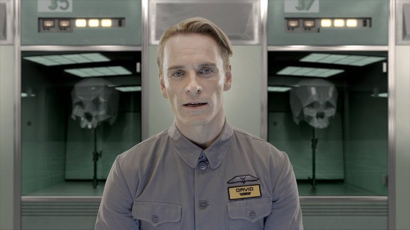Michael Fassbender Confirms He'll Be Pulling Double Duty In Alien: Covenant