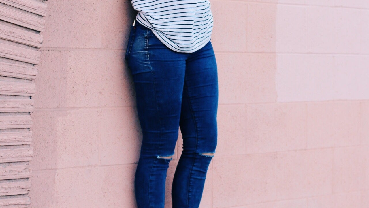 Where To Find Jeans That Fit Your Muscly Legs