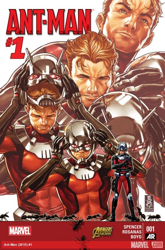 New Ant-Man Comic Book Is The Perfect Trailer for Marvel's Next Movie