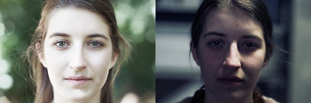 Here's how much lighting can change the way someone's face looks