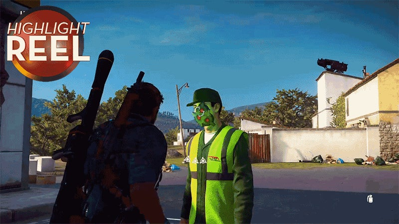 Even Faces Can Become Rockets In Just Cause 3